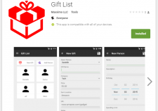GiftList - Maxximo LLC